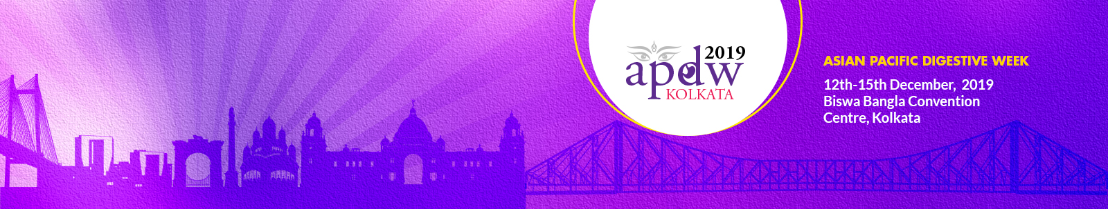 the Asian Pacific Digestive Week (APDW2019) to be held at Kolkata,