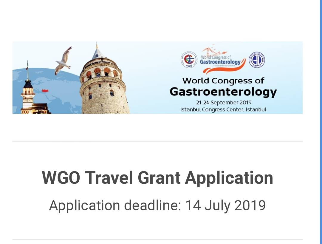 World Congress Istanbul: Travel Grants Available for Training Centers