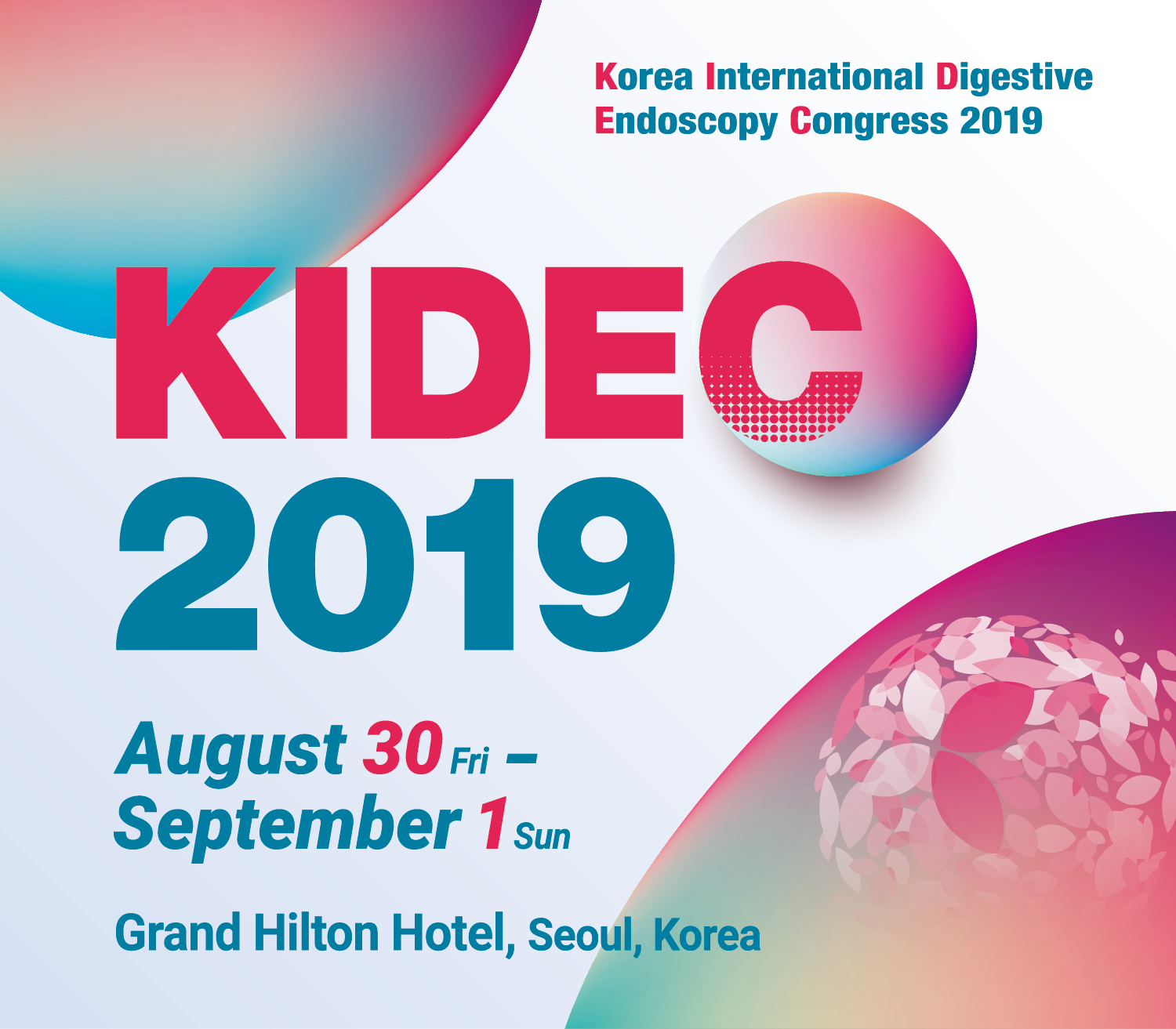 International Digestive Endoscopy Congress (KIDEC) 2019