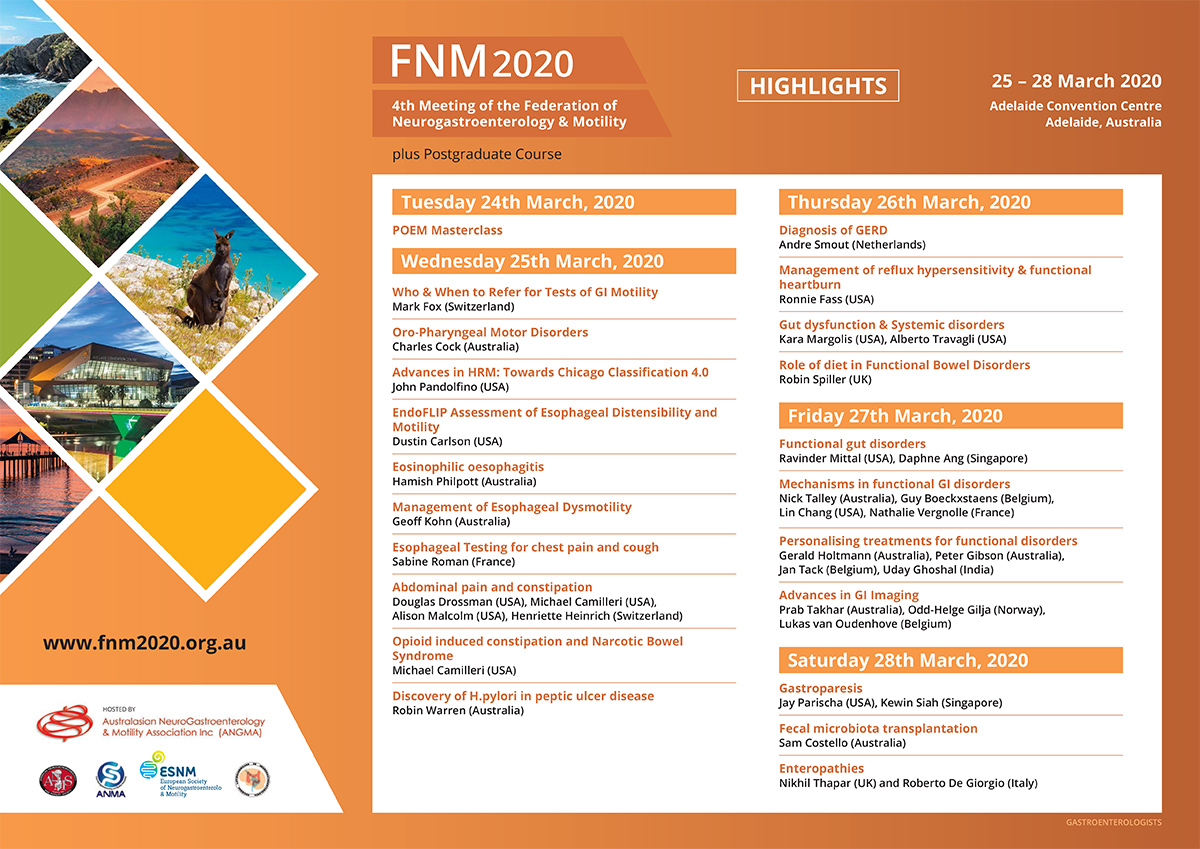 FNM2020 @Adelaide, Australia (March 24-28, 2020)