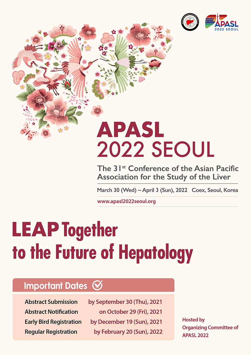 The 31st Conference of the Asian Pacific Association for the Study of the Liver (APASL 2022)