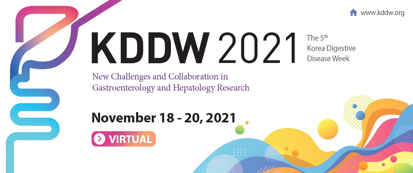 the 5th Korea Digestive Disease Week (KDDW 2021)  November 18 to 20, 2021