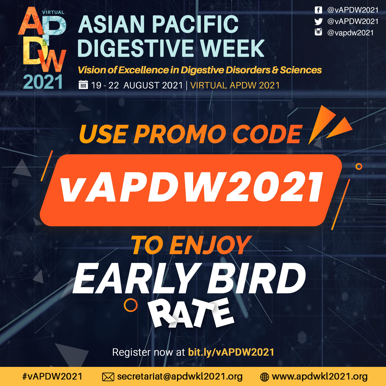 EarlyBird APDW2021